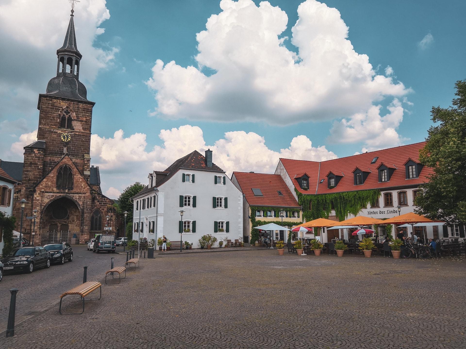 Marktplatz Sankt Arnual